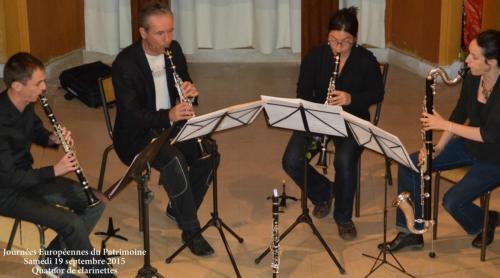 Quatuor de clarinettes