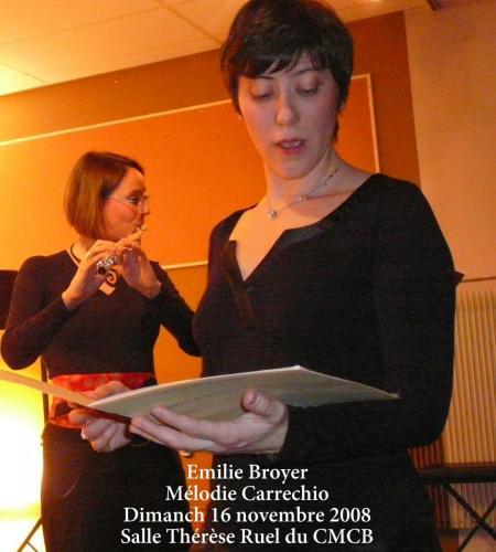 Trio Emilie Mélodie Mathieu